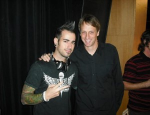 Dj Shift LV with Tony Hawk