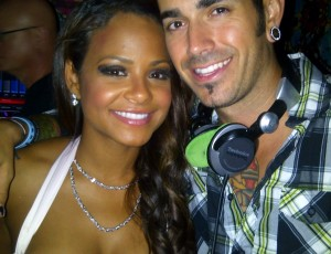 DJ Shift and Christina Milian
