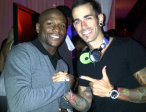 DJ Shift and  Floyd Mayweather