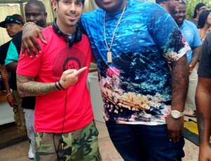 DJ Shift and Sean Kingston
